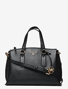MD SATCHEL - handtassen - black