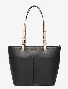 MD TZ POCKET TOTE - fashion shoppers - black