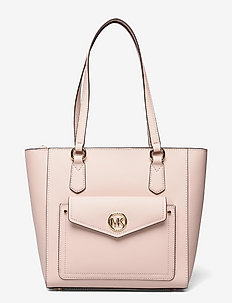 MD POCKET TOTE - shoppers - soft pink