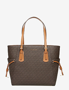 EW TOTE - shopperit - brown