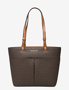 MD TZ POCKET TOTE - BRN/ACORN