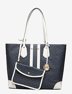 LG TOTE - shoppers - admrl/plblue