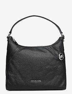 LG SHLDR - top handle tasker - black