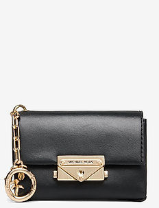 CHARMS LEATHER CECE BAG CHARM - clutches - black
