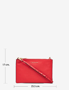 LG DBL POUCH XBODY - BRIGHT RED