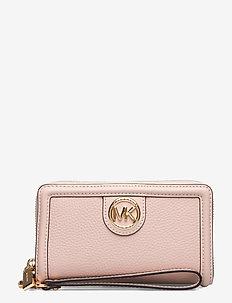 SAMIRA LG FLAT MF PHN CASE - porte-monnaies - soft pink