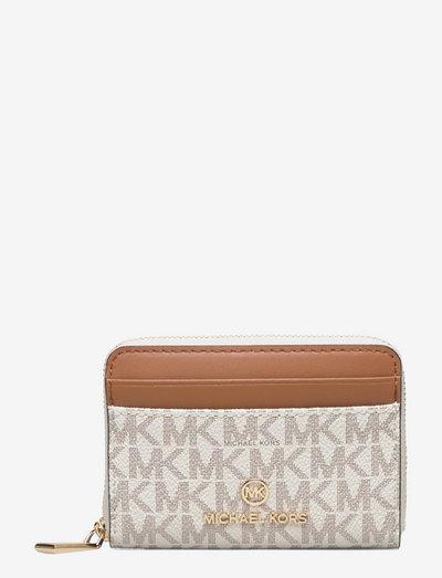 SM ZA COIN CARD CASE - kortholdere - vanilla/acrn