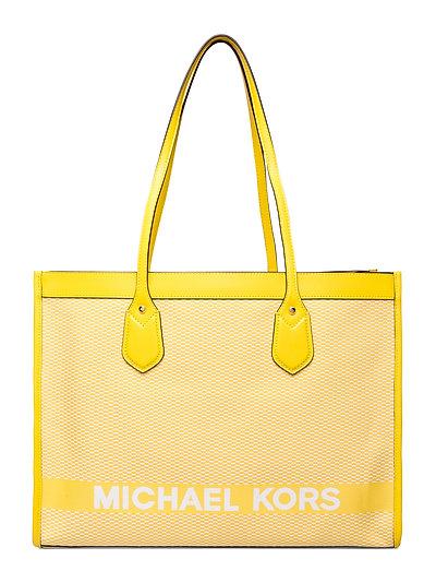 Lg Ew Tote Shopper Tasche Gelb MICHAEL KORS BAGS