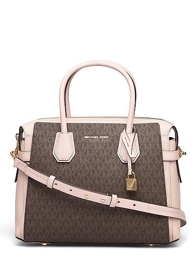 Belted Md Satchel Bags Top Handle Bags Bunt/gemustert MICHAEL KORS BAGS