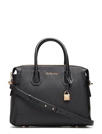 Belted Md Satchel Bags Top Handle Bags Schwarz MICHAEL KORS BAGS