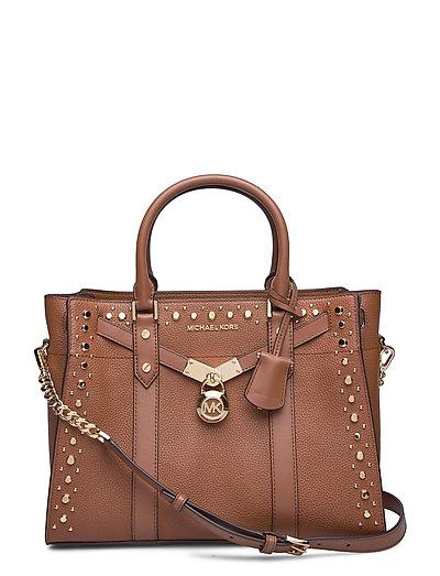Lg Satchel Bags Top Handle Bags Braun MICHAEL KORS BAGS