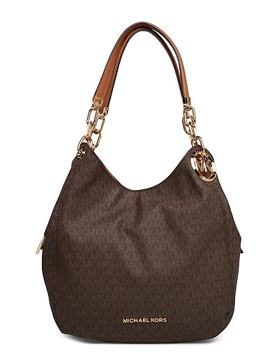 Lg Chain Shldr Tote Bags Bucket Bag Braun MICHAEL KORS BAGS