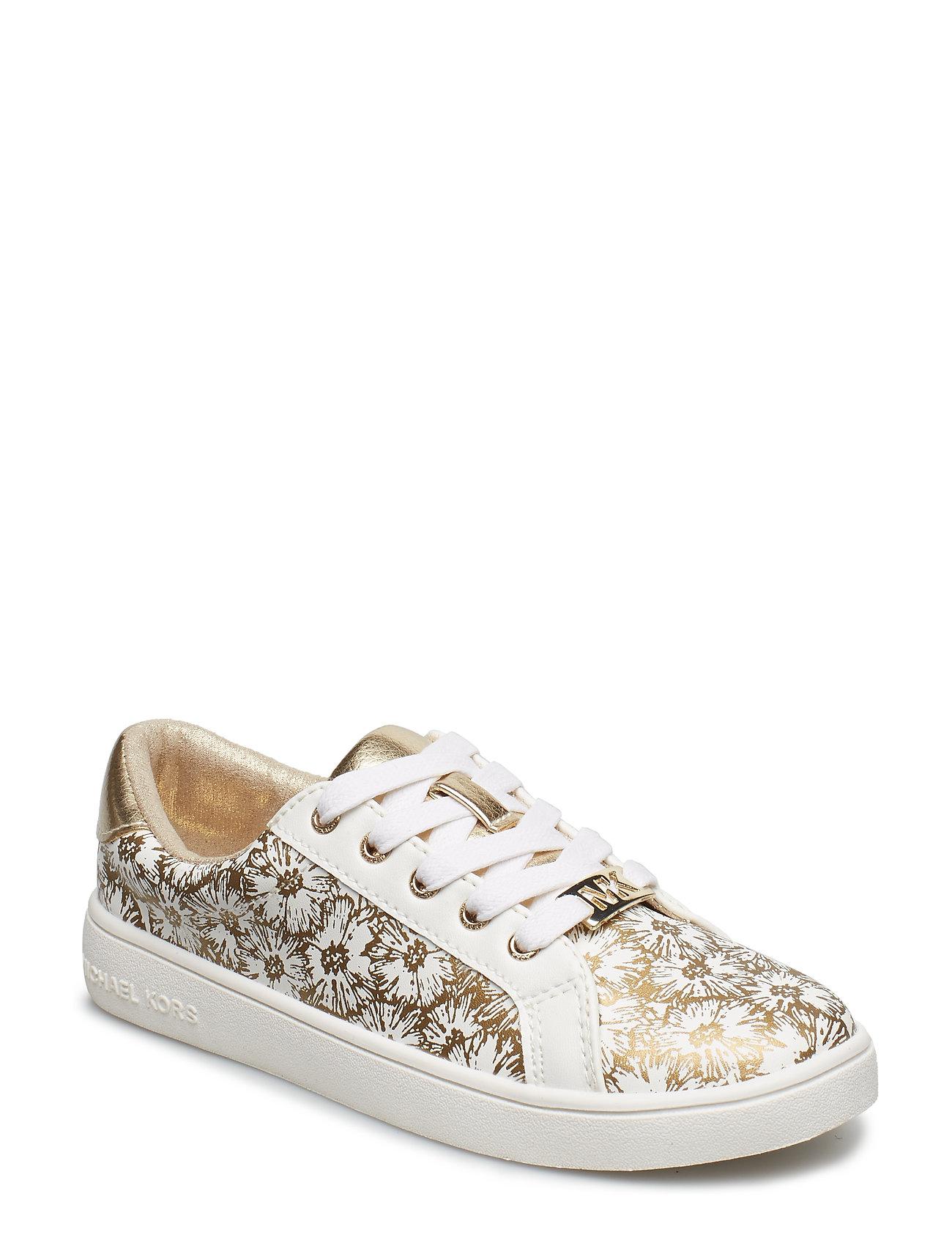 3e9ffbc6 Michael Kors sneakers – Zia Ivy Floral til børn i WHITE GOLD ...