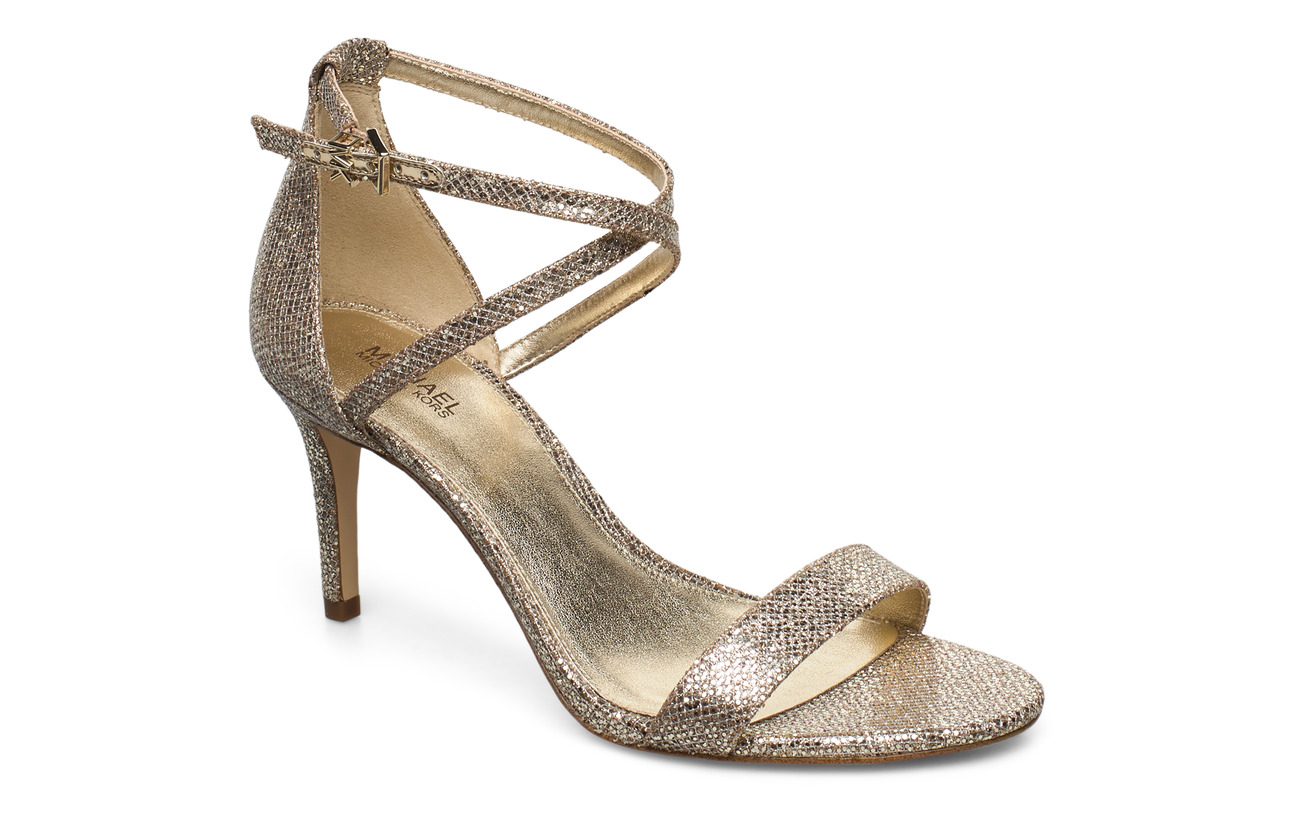 Michael Kors Shoes AVA MID SANDAL - SAND