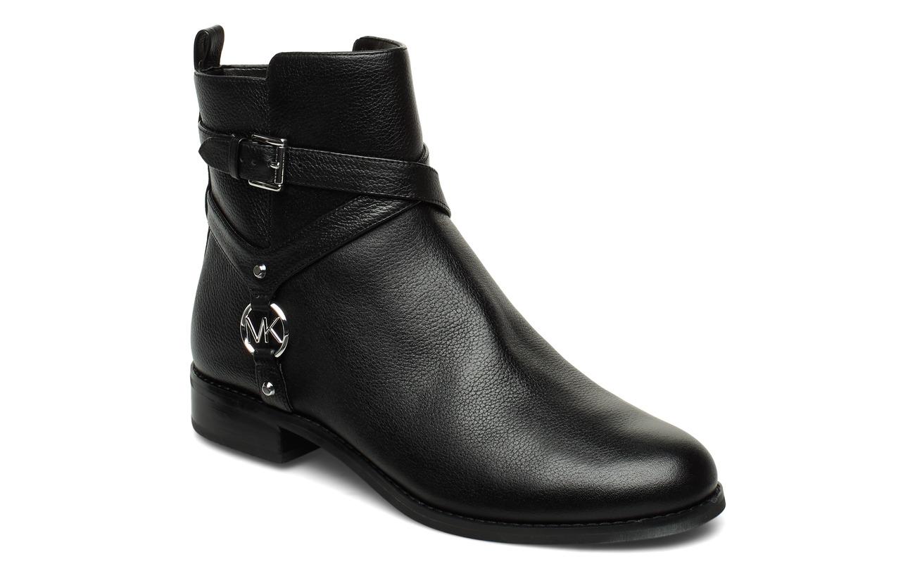 Michael Kors Shoes PRESTON FLAT BOOTIE - BLACK