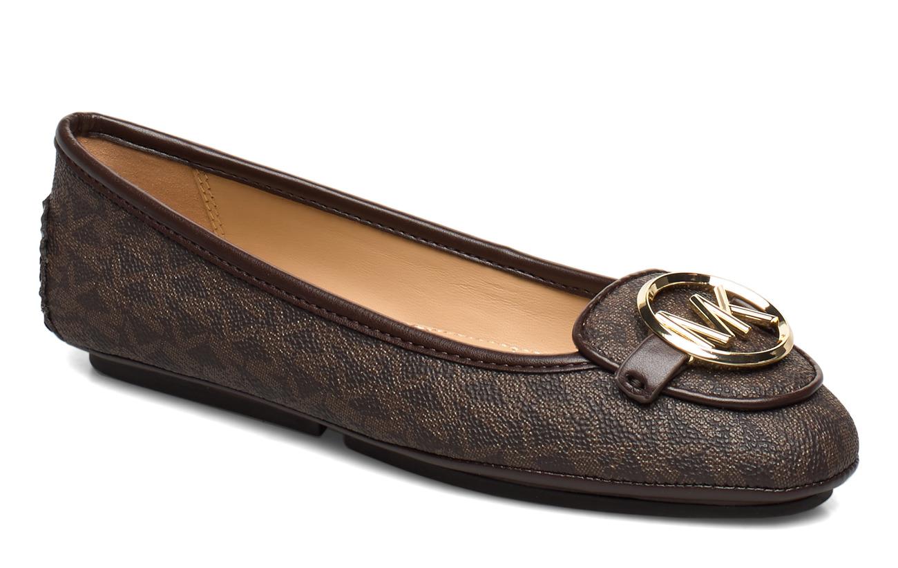 Michael Kors Shoes LILLIE MOC - BROWN