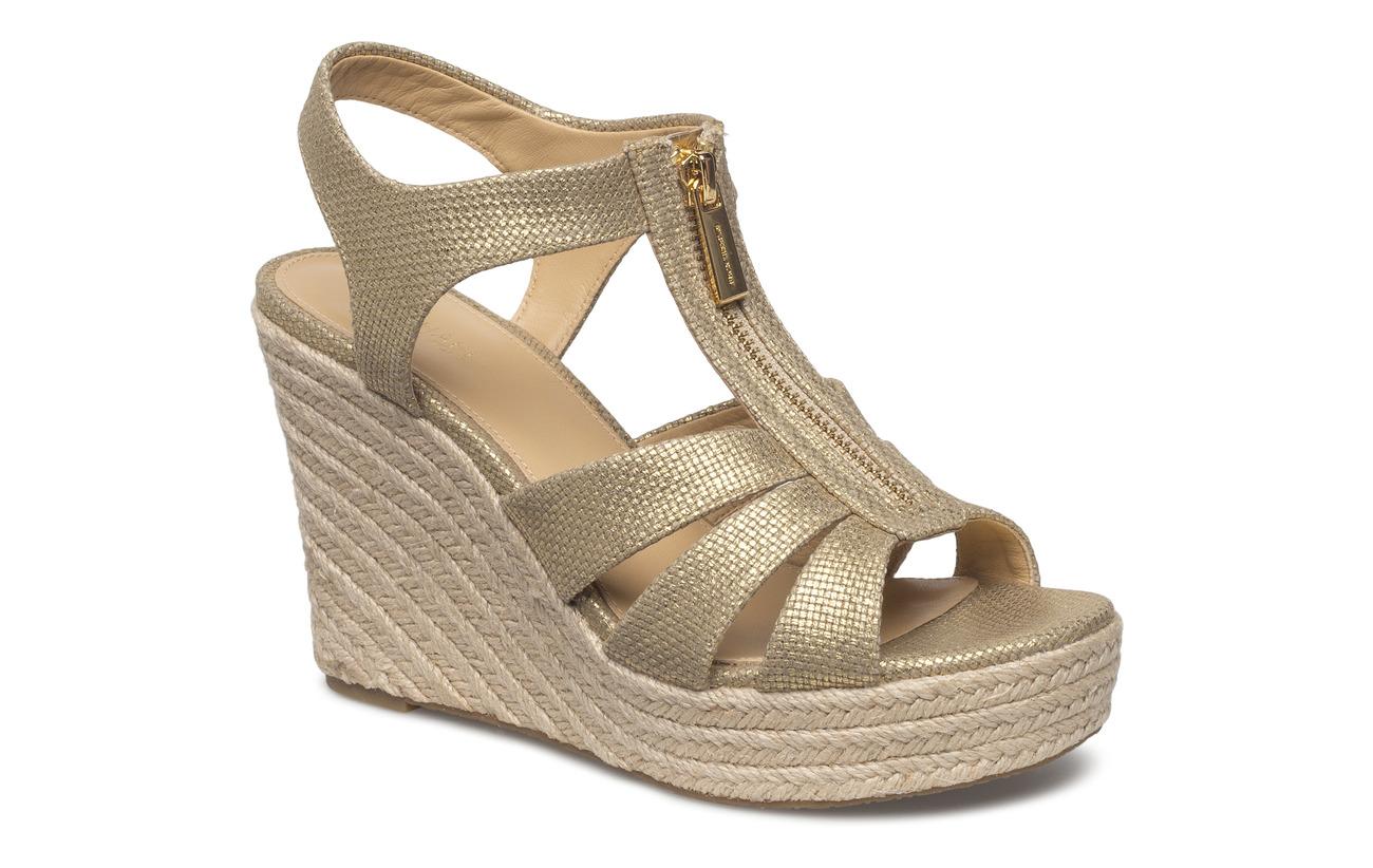 Michael Kors Shoes Berkley Wedge (Pale