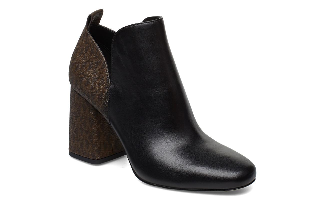 Michael Kors Shoes DIXON BOOTIE - BLK/BROWN