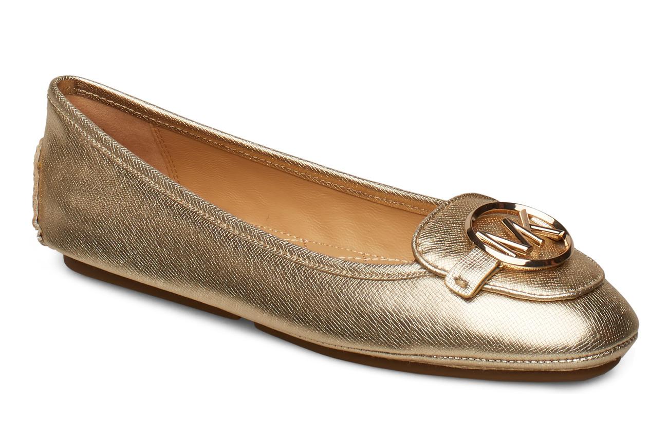 Michael Kors Shoes LILLIE MOC - PALE GOLD