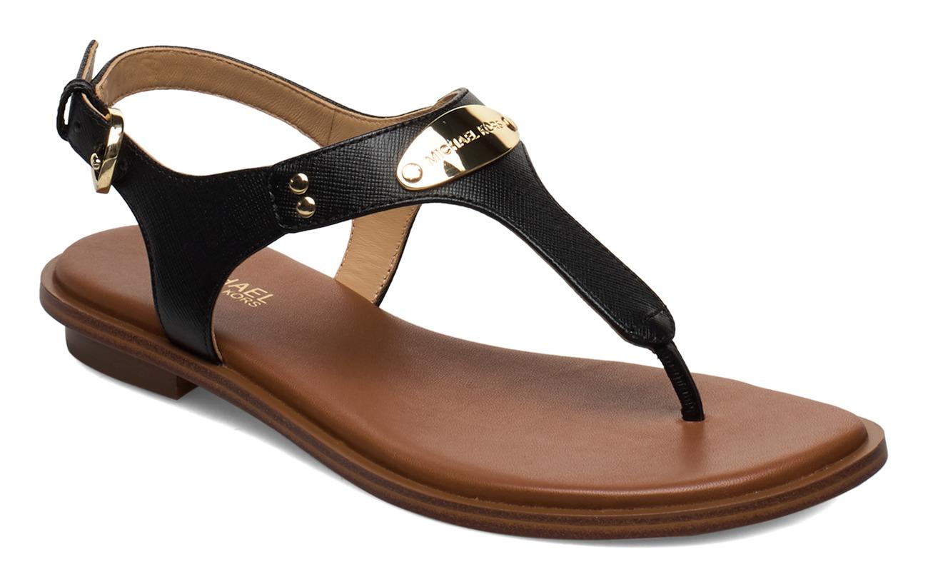 Michael Kors Shoes MK PLATE THONG - BLACK
