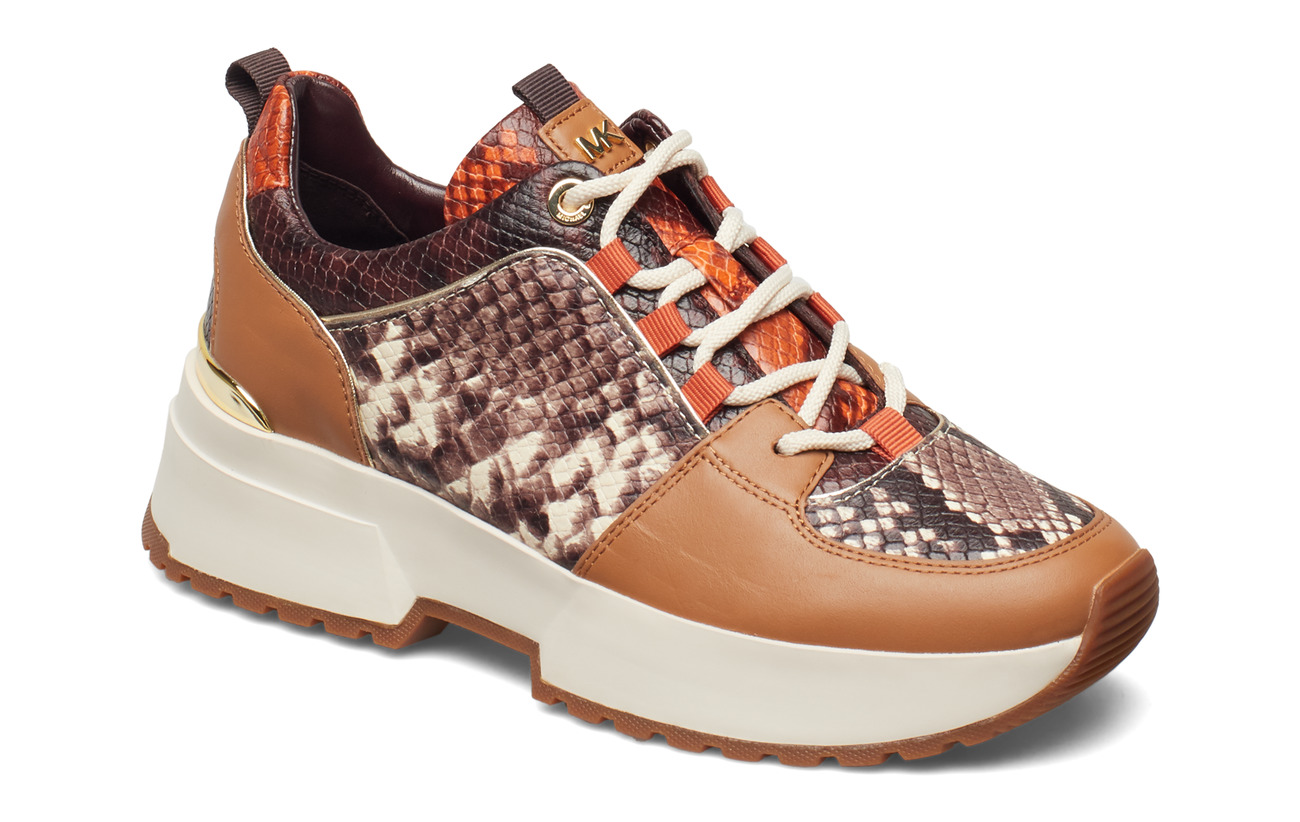 Michael Kors Shoes COSMO TRAINER - NATURAL MLT