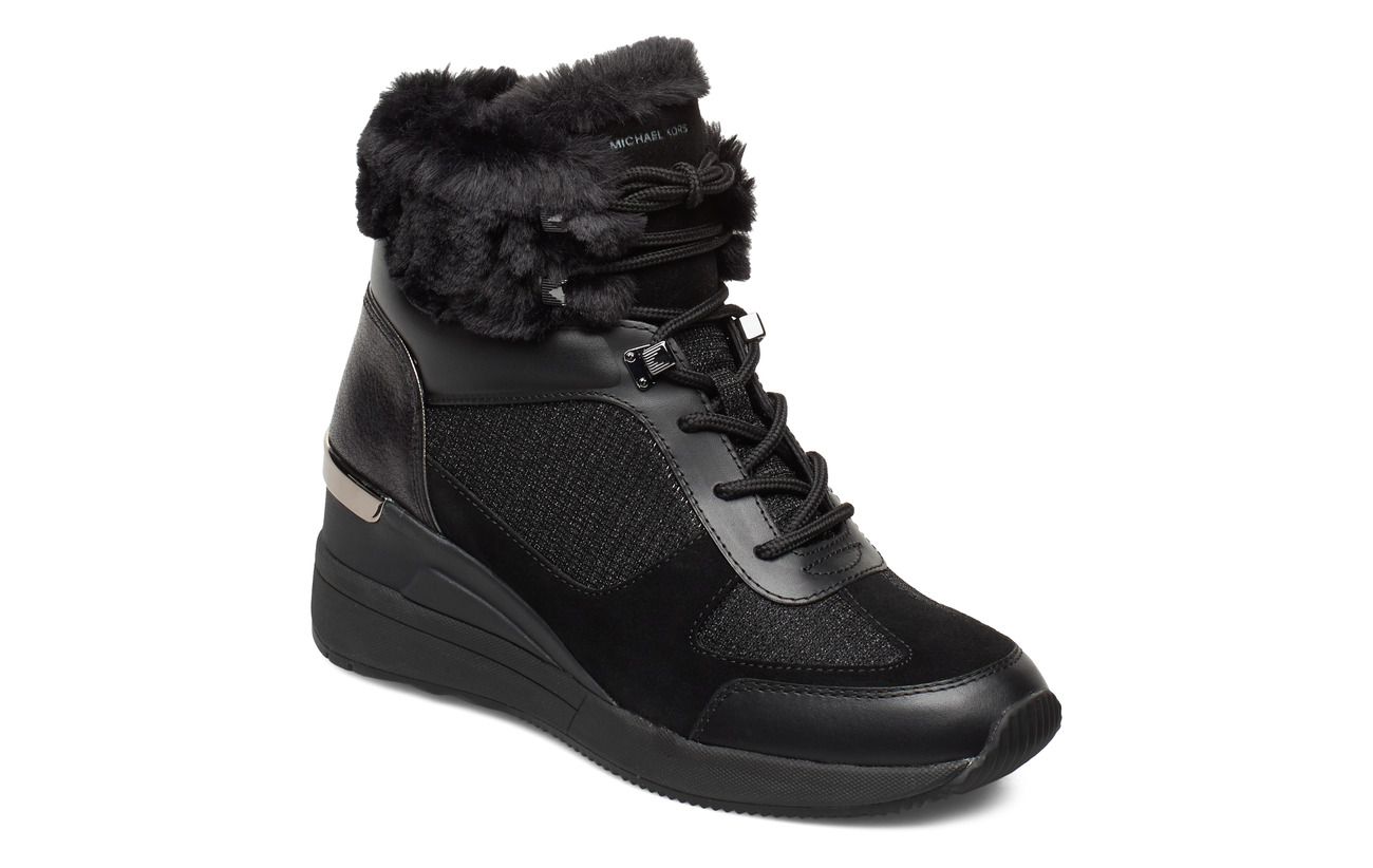 Michael Kors Shoes LIV BOOTIE - BLACK