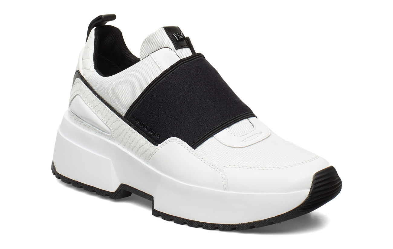 Michael Kors Shoes COSMO SLIP ON - OPTICWHT/BLK