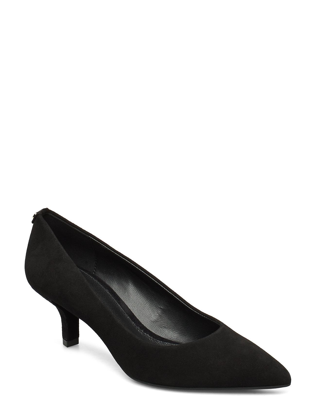 Michael Kors Shoes KATERINA FLEX KITTEN PUMP - BLACK
