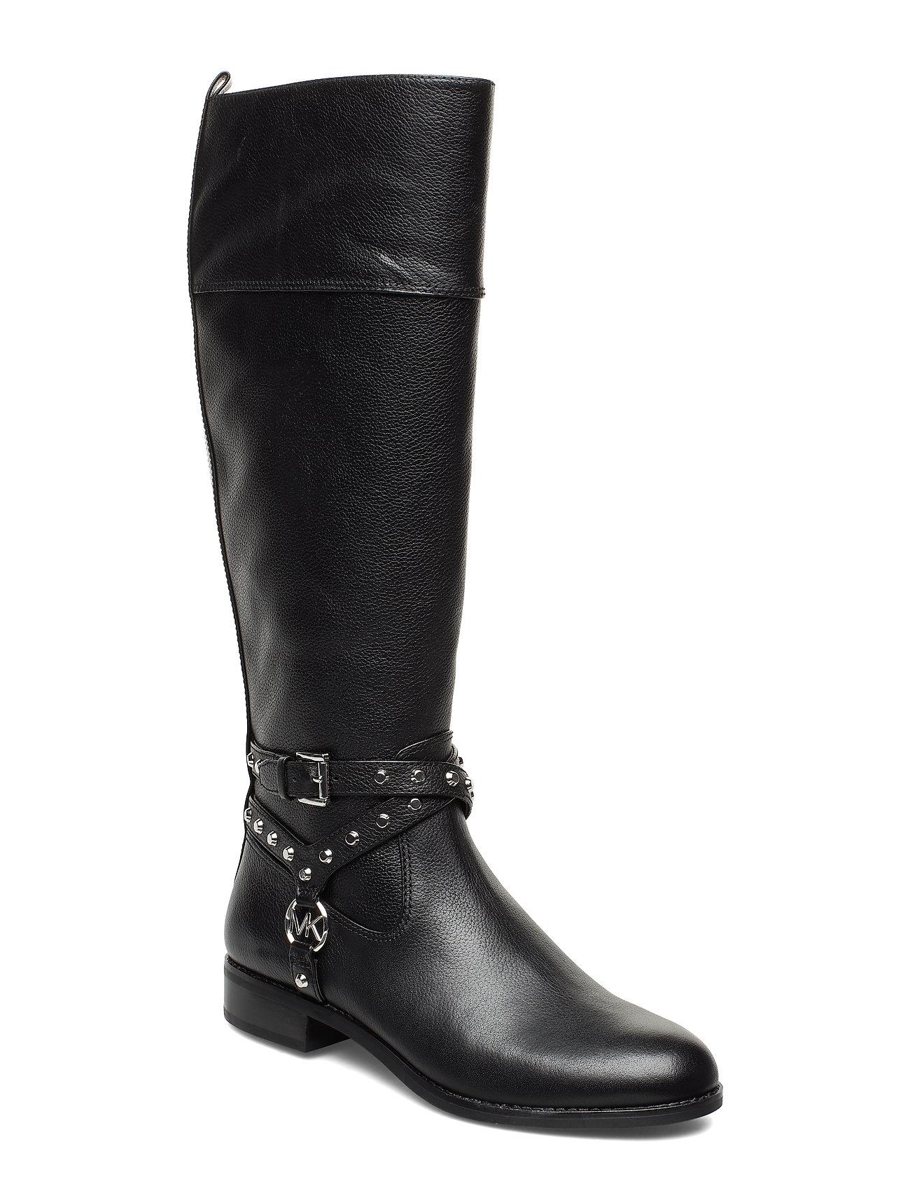 Michael Kors Shoes PRESTON BOOT - BLACK