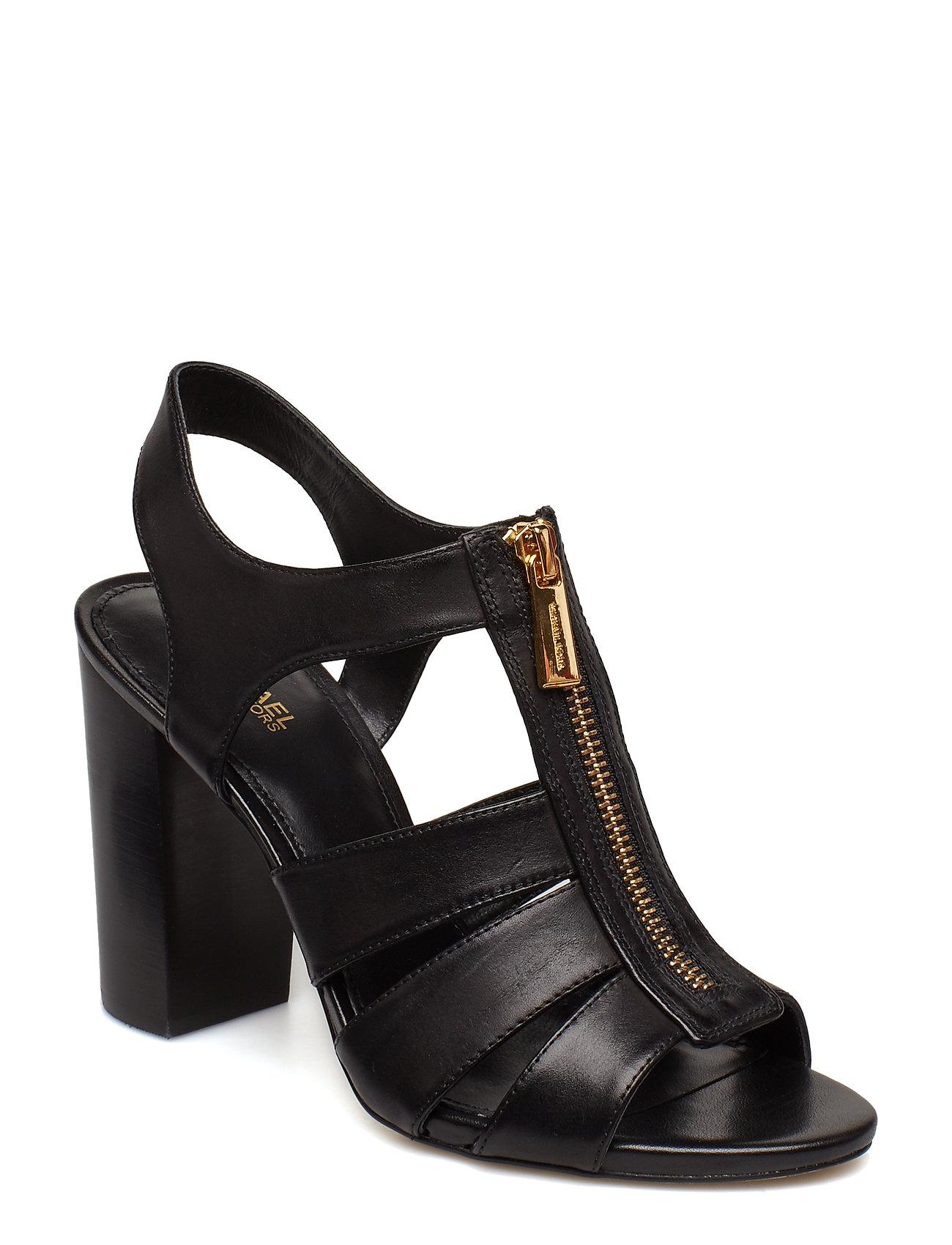 MICHAEL KORS Damita Sandal Sandale Mit Absatz Schwarz MICHAEL KORS SHOES
