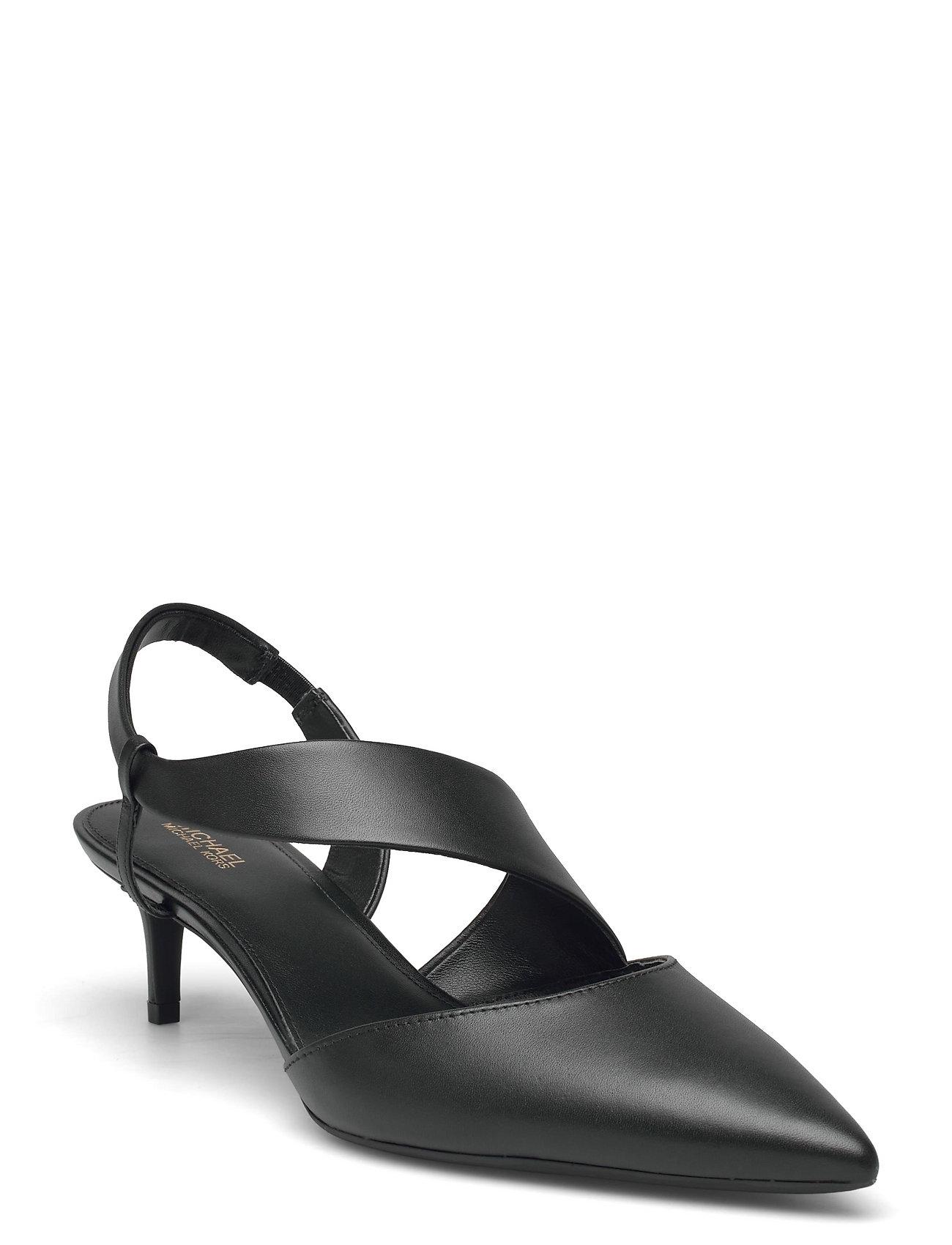 Juliet Flex Kitten Shoes Heels Pumps Sling Backs Sort Michael Kors