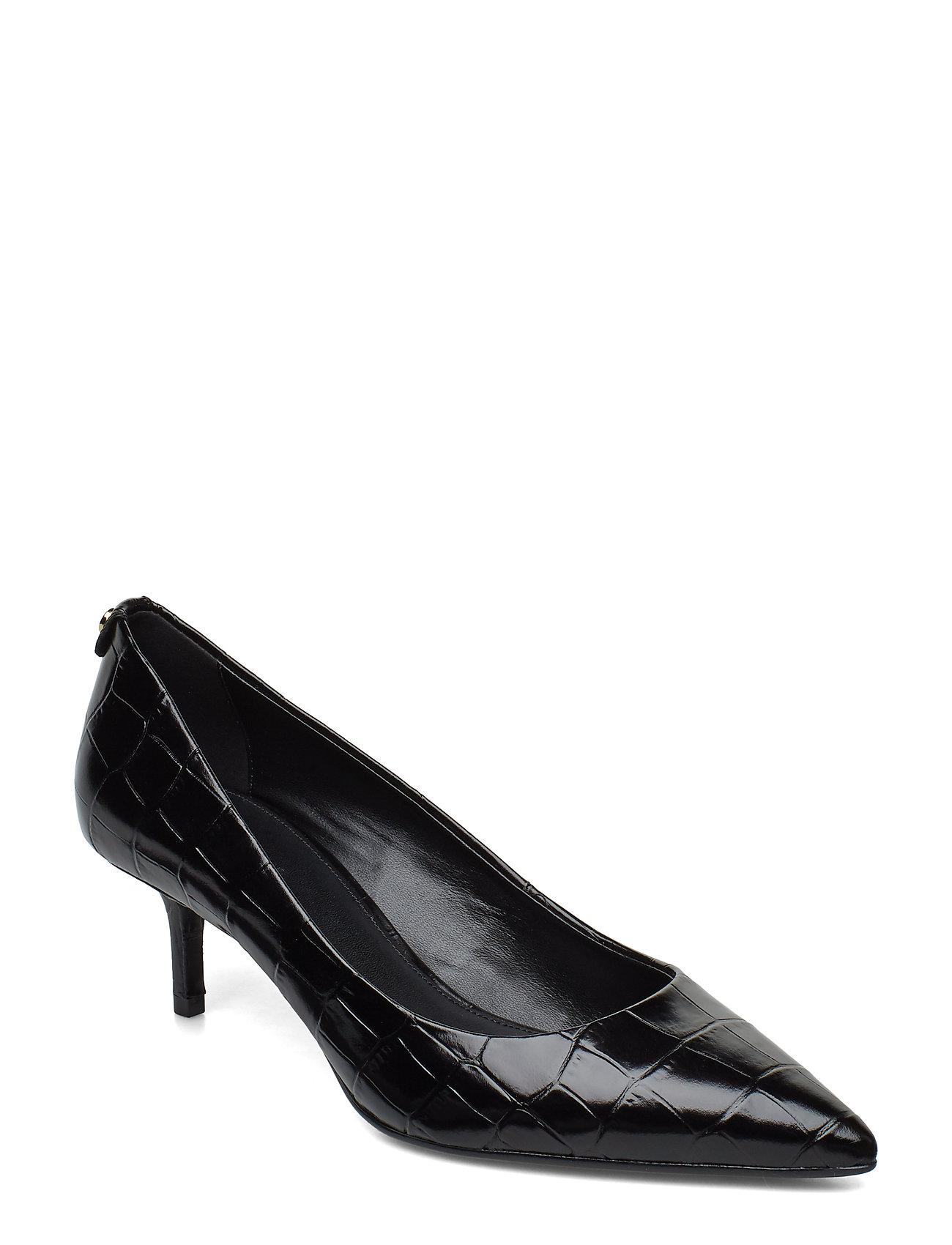 Michael Kors Shoes MK-FLEX KITTEN PUMP - BLACK
