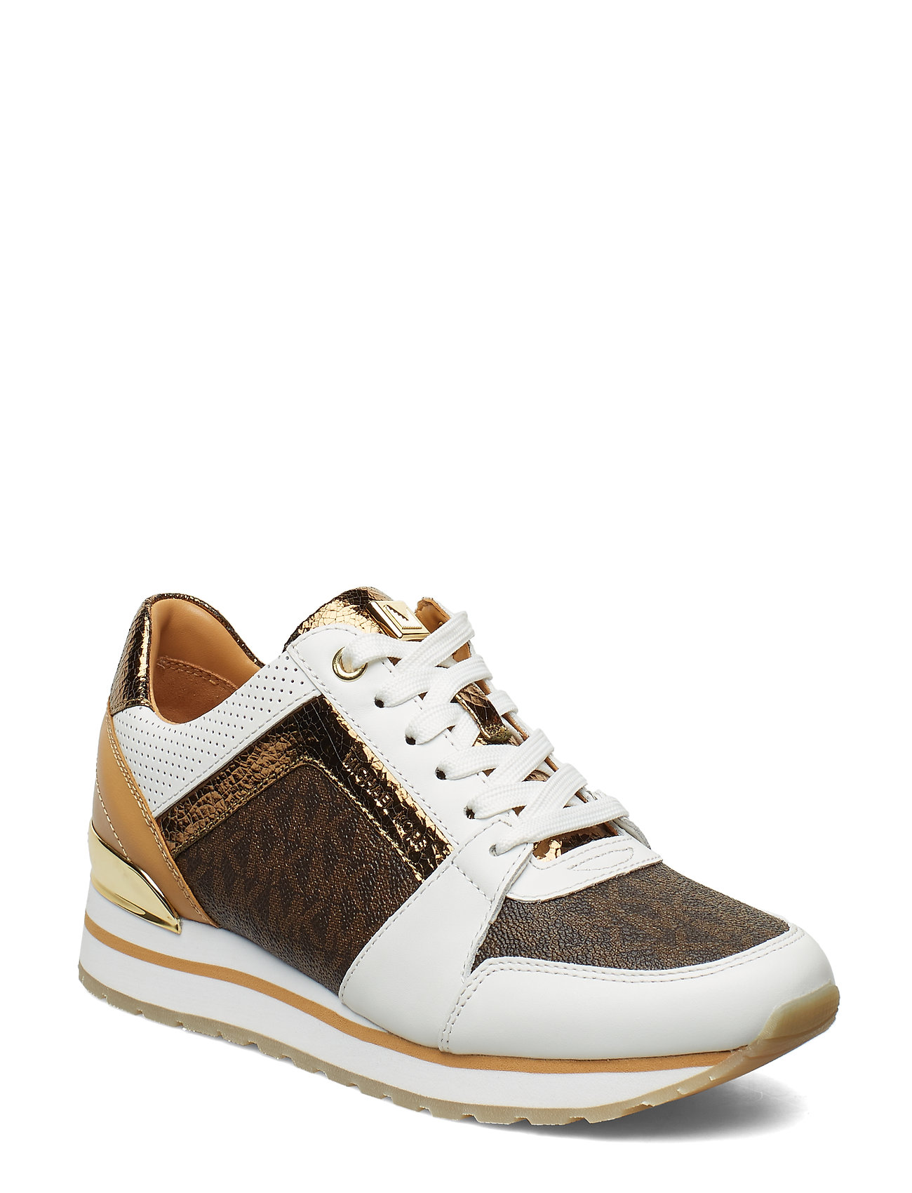 Michael Kors Shoes BILLIE TRAINER - OP WHT/BROWN