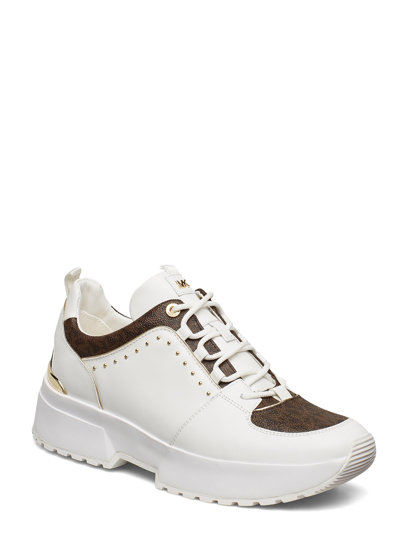 Michael Kors Shoes COSMO TRAINER - OP WHT/BROWN