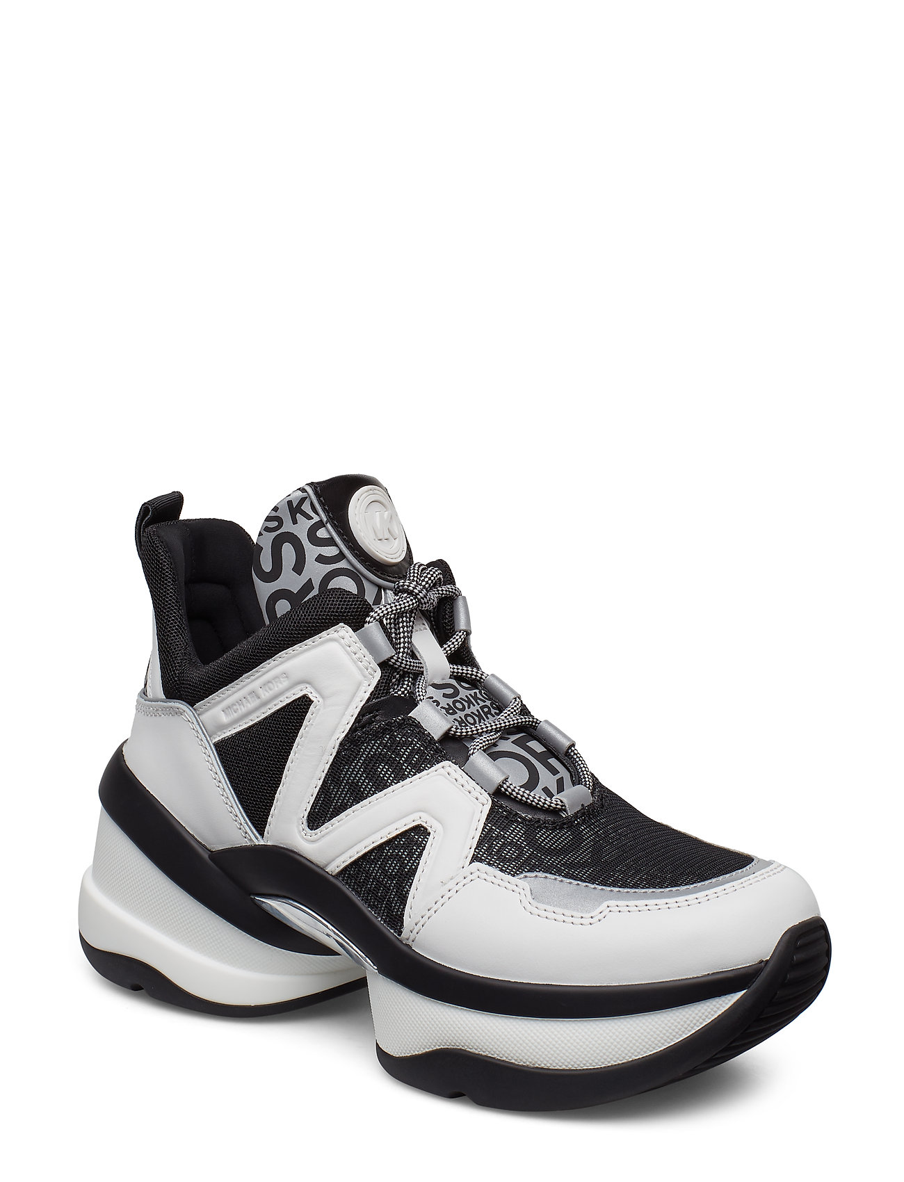 Michael Kors Shoes OLYMPIA TRAINER - OPWHT MULTI