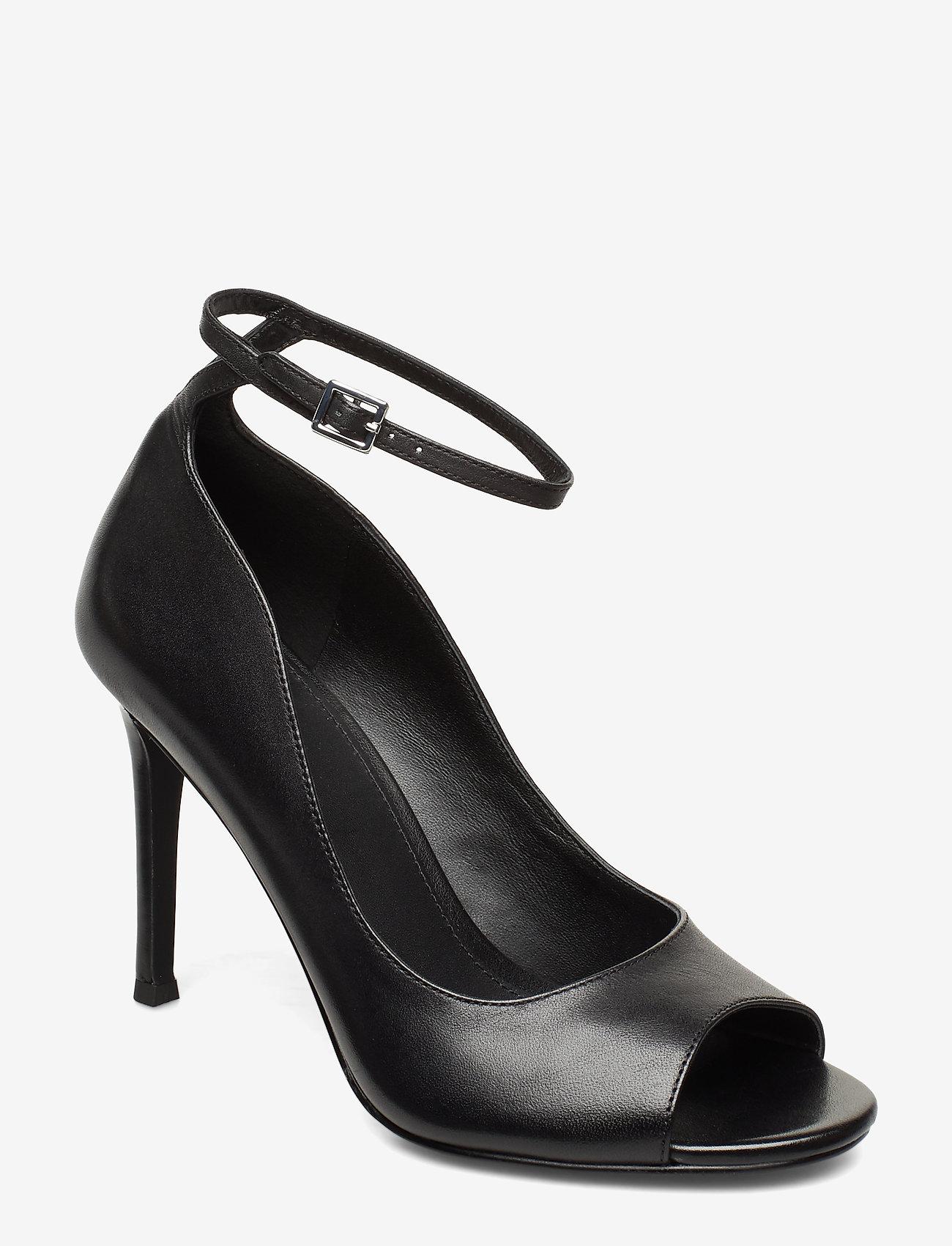 Michael Kors Shoes - DANIELLE OPEN TOE - peeptoes - black - 0