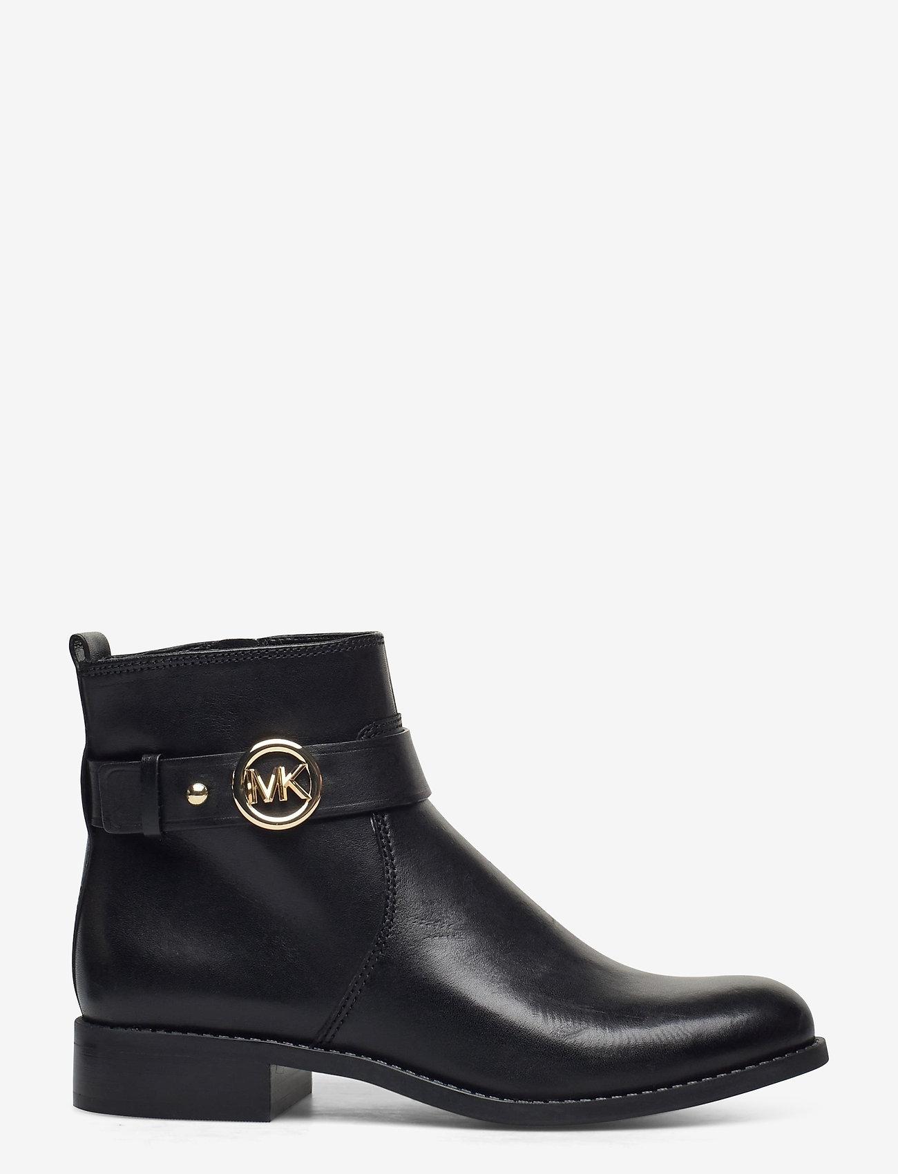 Michael Kors Shoes - ABIGAIL FLAT BOOTIE - enkellaarsjes met hak - black - 1