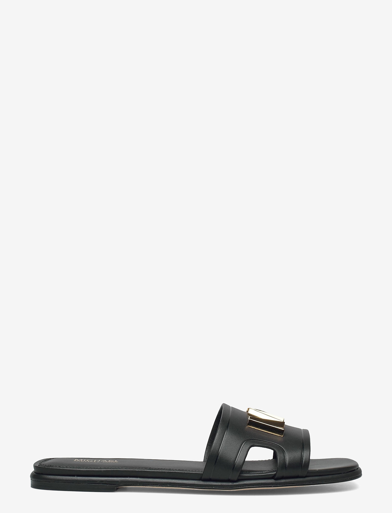 Michael Kors - KIPPY SLIDE - platte sandalen - black - 1