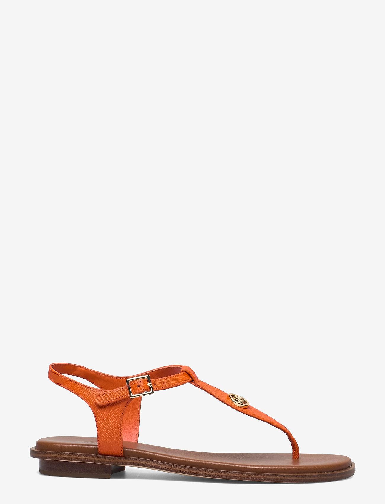 Michael Kors - MALLORY THONG - platte sandalen - clementine - 1