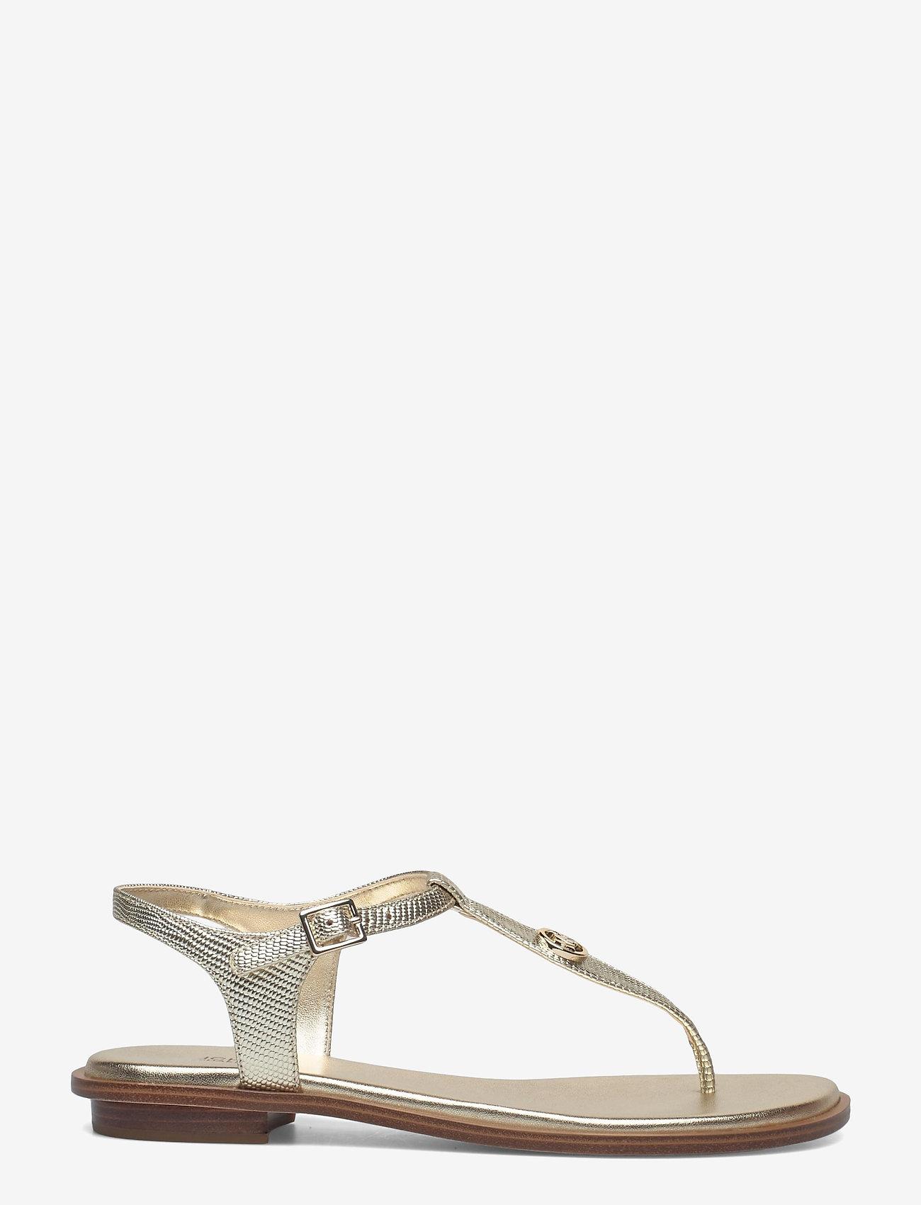 Michael Kors - MALLORY THONG - platte sandalen - pale gold - 1