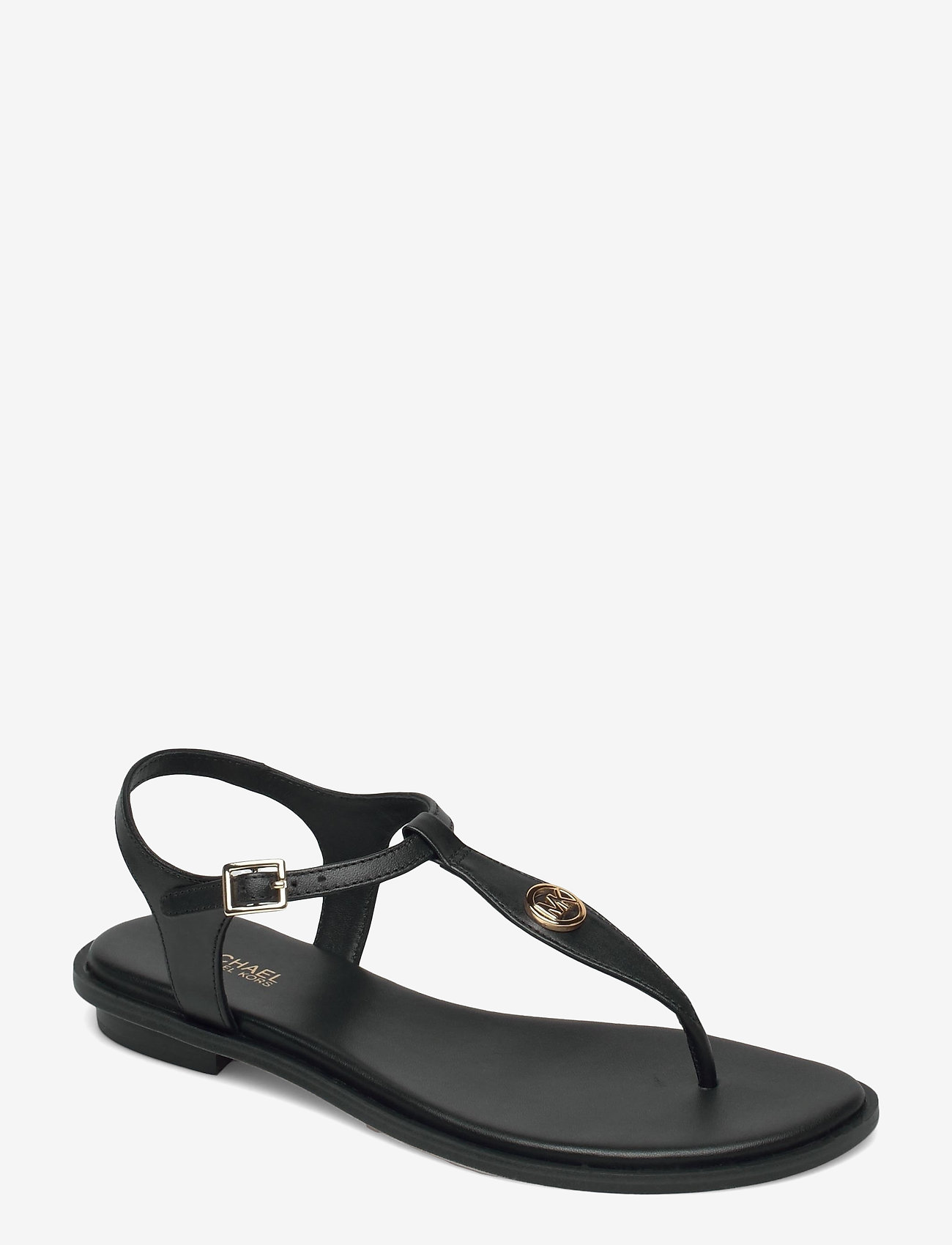 Michael Kors - MALLORY THONG - platte sandalen - black - 0