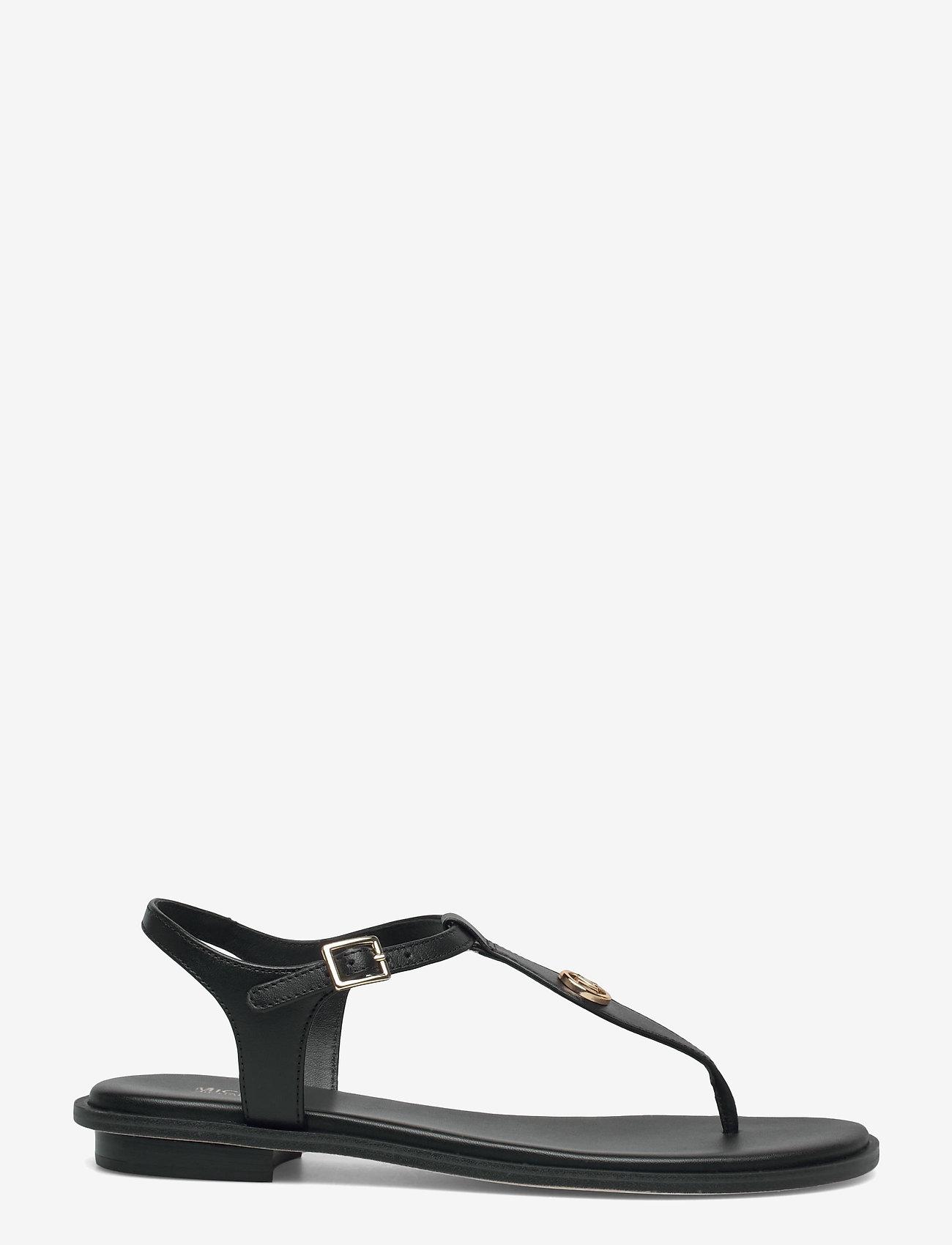 Michael Kors - MALLORY THONG - platte sandalen - black - 1