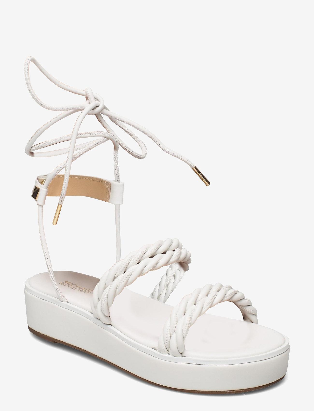 Michael Kors - MARINA SANDAL - platte sandalen - optic white - 0