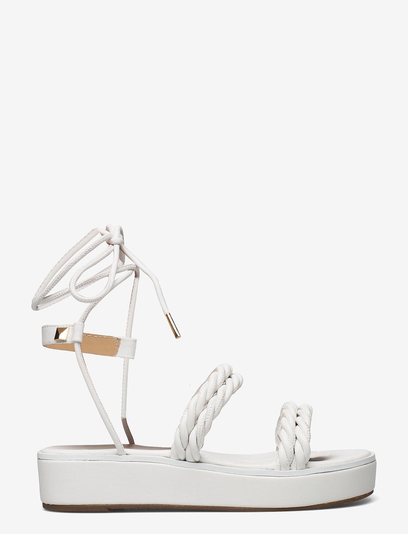 Michael Kors - MARINA SANDAL - platte sandalen - optic white - 1