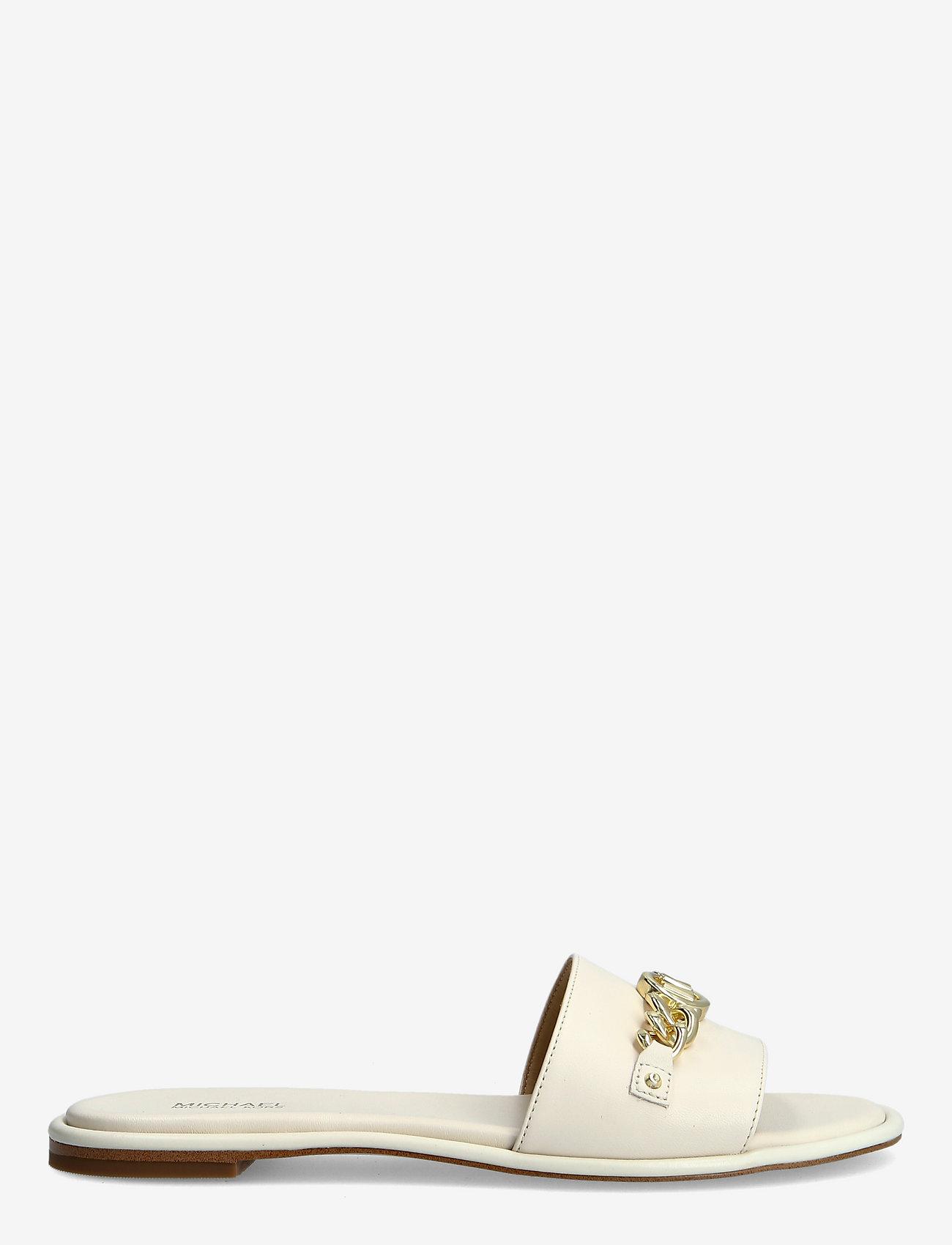 Michael Kors - RINA SLIDE - platte sandalen - lt cream - 1