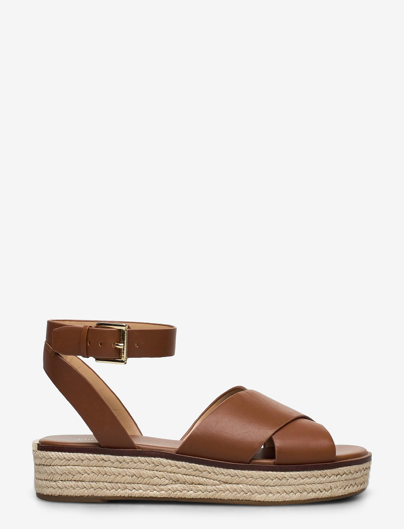 Michael Kors Shoes - ABBOTT SANDAL - lage espadrilles - luggage - 1