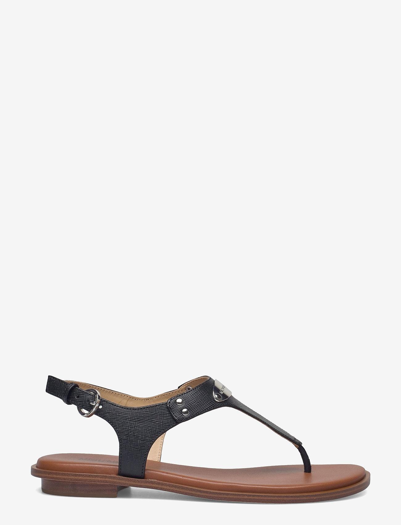 Michael Kors - MK PLATE THONG - platte sandalen - black - 1