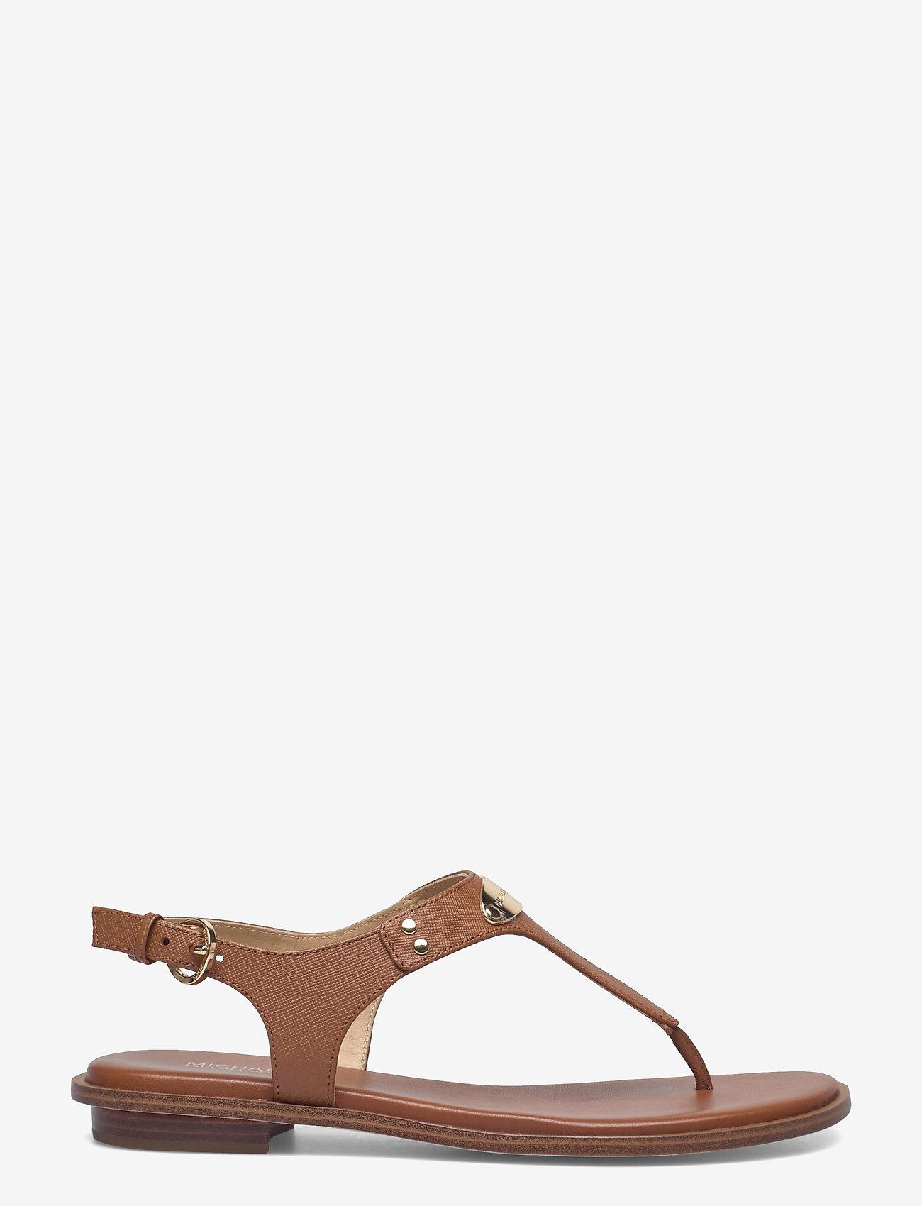 Michael Kors - MK PLATE THONG - platte sandalen - luggage - 1