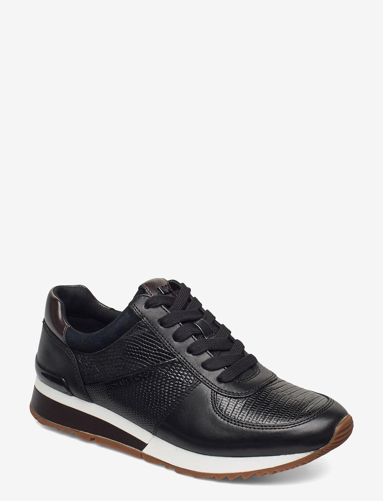 Michael Kors Shoes - ALLIE WRAP TRAINER - lage sneakers - black - 0