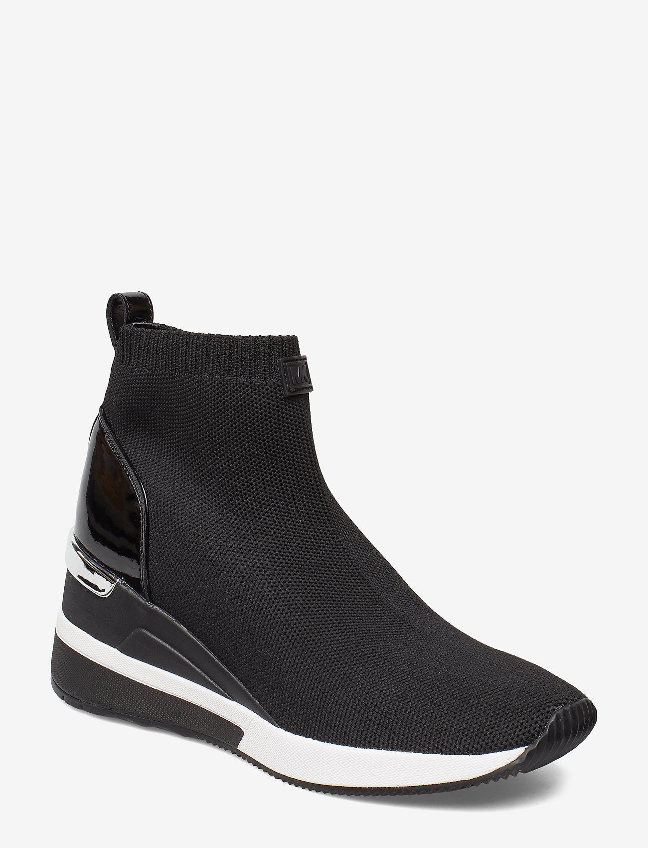 Michael Kors - SKYLER BOOTIE - hoge sneakers - black - 0